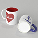 Custimizable Coffee Mugs - 3DOcean Item for Sale