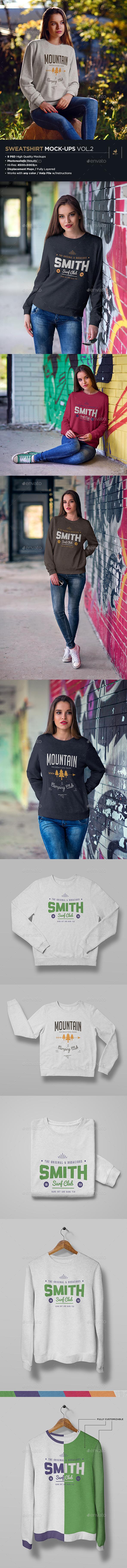Sweatshirt Mock-Up Vol.2 - Miscellaneous Apparel