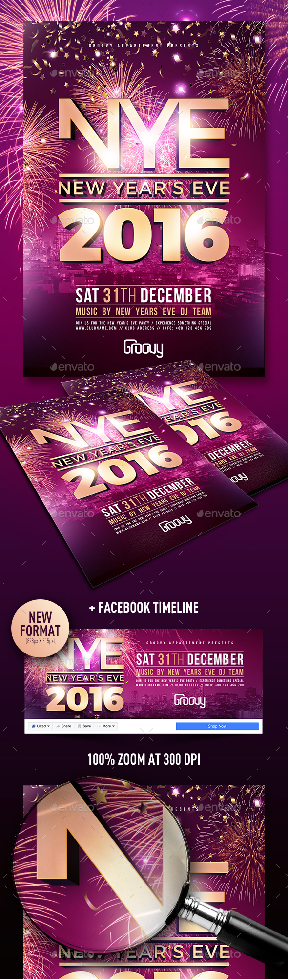 New Years Eve V2 - Clubs & Parties Events