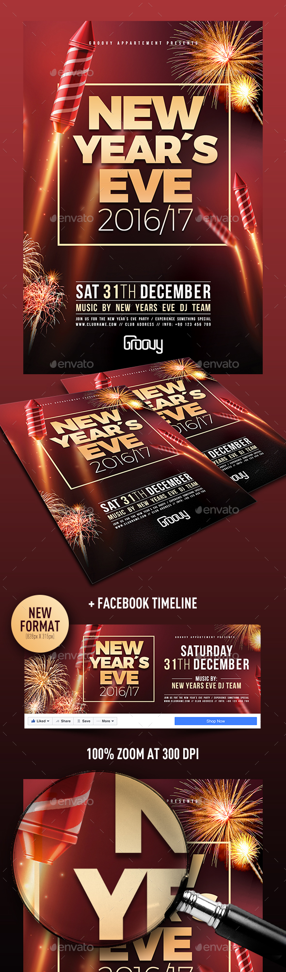 New Years Eve V1 - Clubs & Parties Events