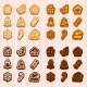 Shaped Cookies for Christmas and New Year - GraphicRiver Item for Sale
