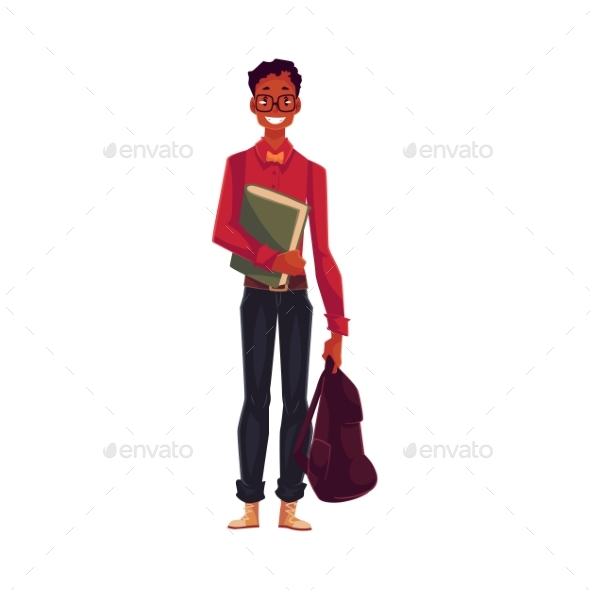 University Student - People Characters