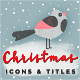 Christmas Motion Icons & Titles - VideoHive Item for Sale