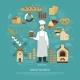 Bakery Business Illustration