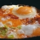 Fried Eggs With Vegetables Prepared On a Frying Pan - VideoHive Item for Sale