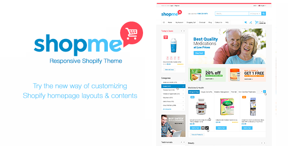 Medical Shopify Theme – Shopme
