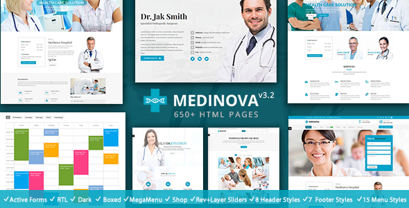 Health Medical - Medinova Medical - Health & Beauty Retail