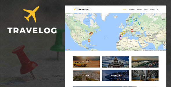 Travelog – WordPress Theme For Travelers