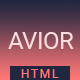 Avior - Responsive Portfolio Template - ThemeForest Item for Sale