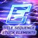 Electro - Electric Title Sequence + 16 Lighting Elements. - VideoHive Item for Sale