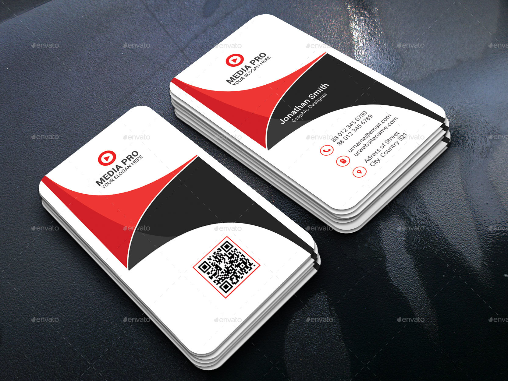 Business card bundle by tauhid1989 graphicriver 1 1g reheart Image collections