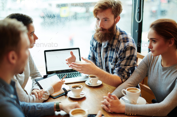 Designers brainstorming - Stock Photo - Images