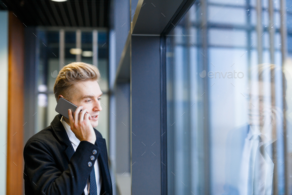 Young broker - Stock Photo - Images