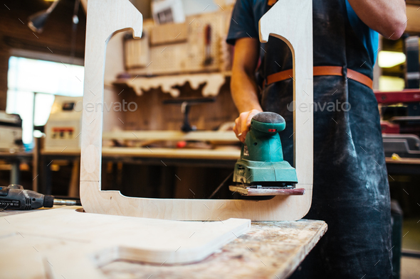 Processing workpiece - Stock Photo - Images