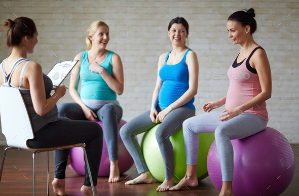 Talk after workout - Stock Photo - Images