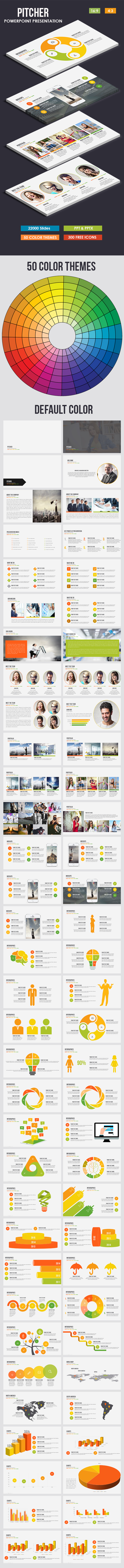 Pitcher - Multi-purpose Powerpoint Template - Business PowerPoint Templates