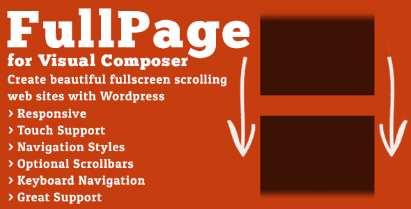Download FullPage for Visual Composer nulled version
