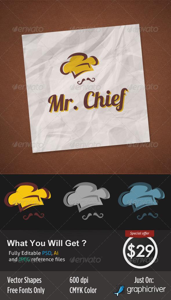 Mr Chief - Food Logo Templates