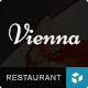 VIENNA - Responsive WordPress Restaurant Theme Nulled