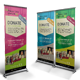 Charity Event Roll-up Banner - GraphicRiver Item for Sale