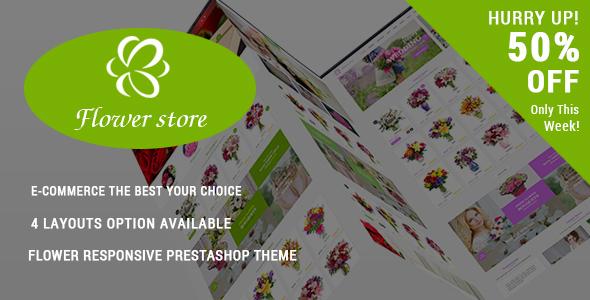 Flower Store – Responsive Prestashop Theme