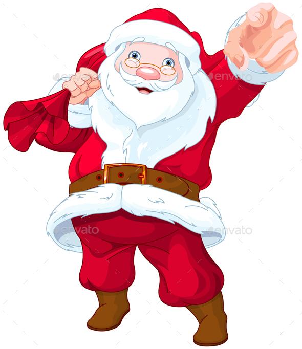Santa Claus Wants You! - Christmas Seasons/Holidays