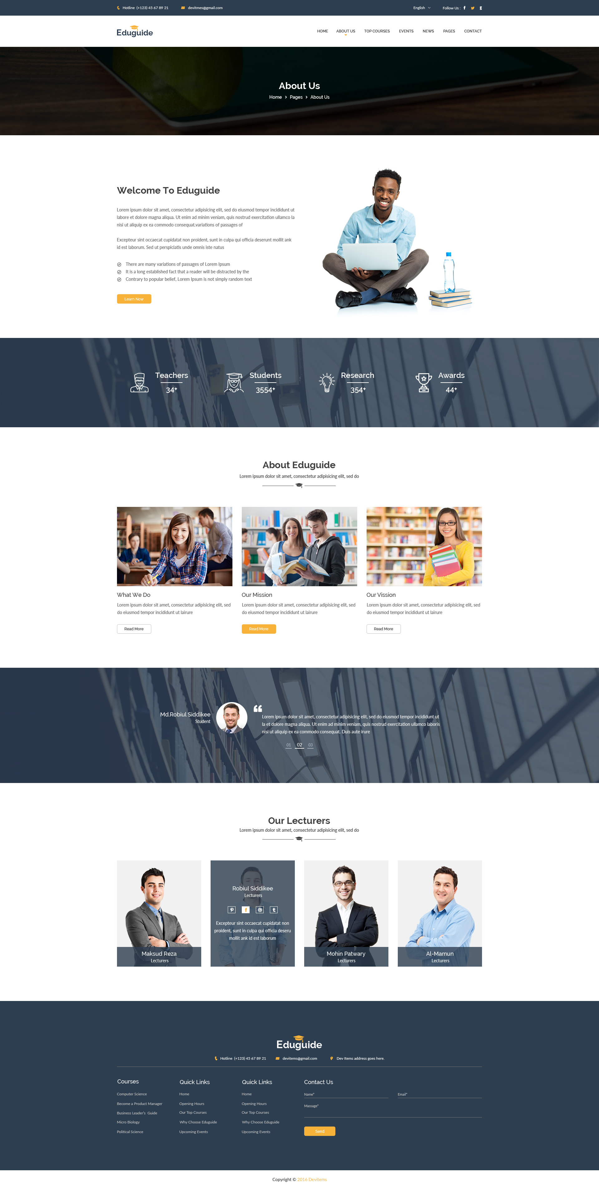 eduguide education psd template by shopify themes themeforest. Black Bedroom Furniture Sets. Home Design Ideas
