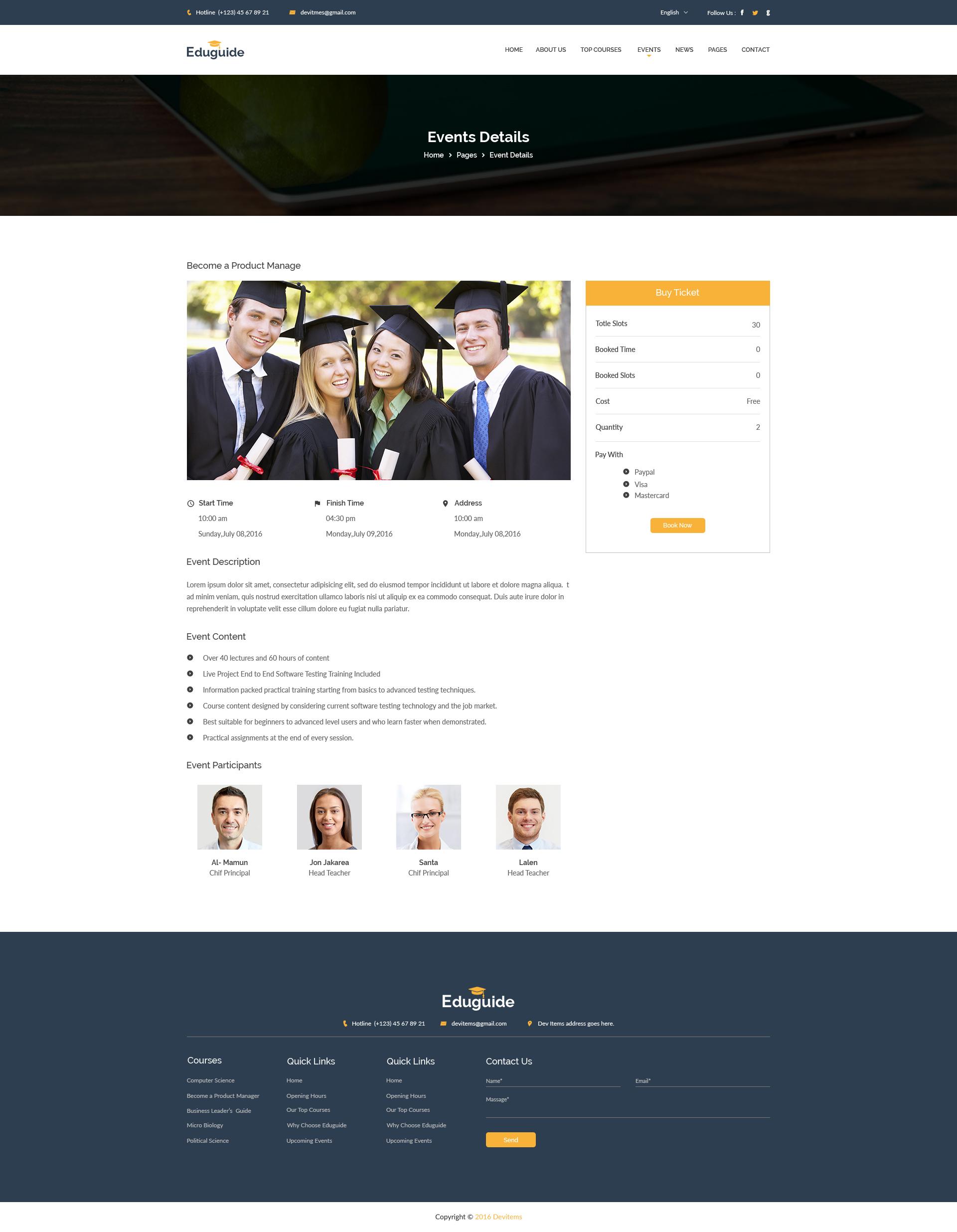 Education PSD Themes