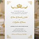 Royal Wedding Invitation - GraphicRiver Item for Sale