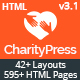 CharityPress - Nonprofit, Crowdfunding & Charity HTML5 Template - ThemeForest Item for Sale