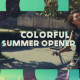 Colorful Summer Opener - VideoHive Item for Sale