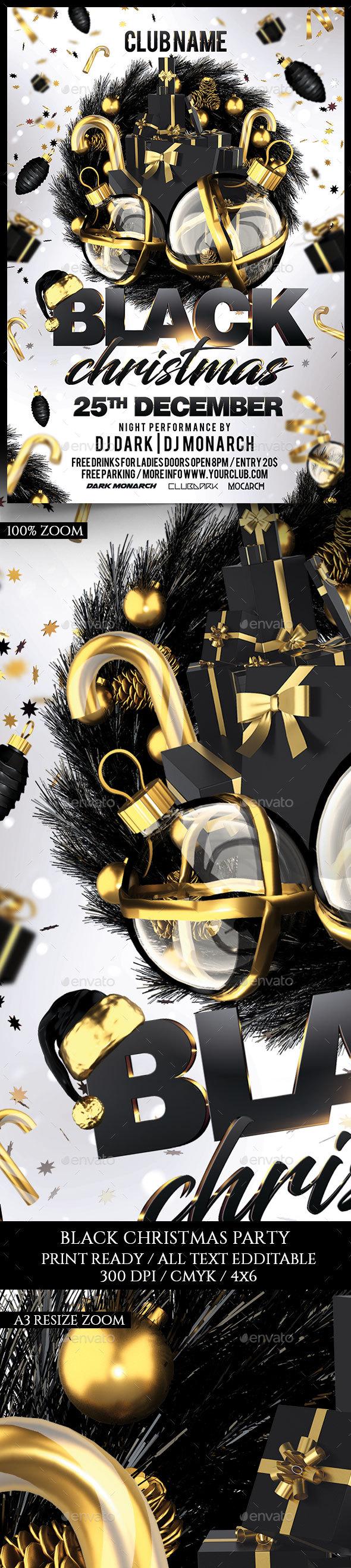 Black Christmas - Holidays Events
