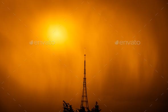 Crystal Palace transmitting station - Stock Photo - Images