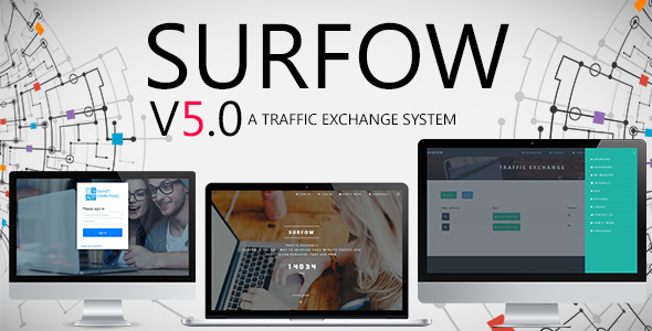 Surfow V5.0 - Traffic Exchange System - CodeCanyon Item for Sale