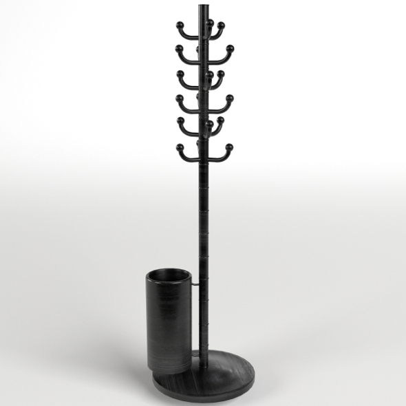 Coat Stand 2 - 3DOcean Item for Sale