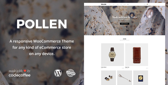 POLLEN - Responsive eCommerce WordPress Theme