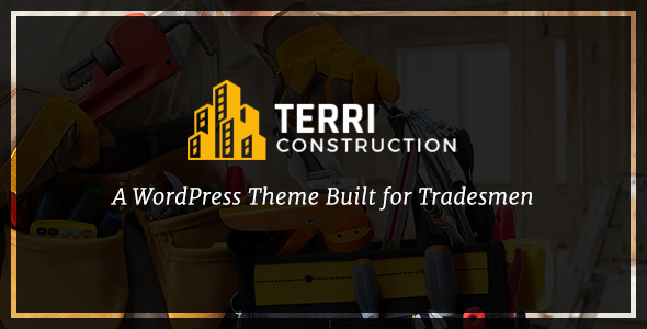 Terri – Construction WordPress Theme