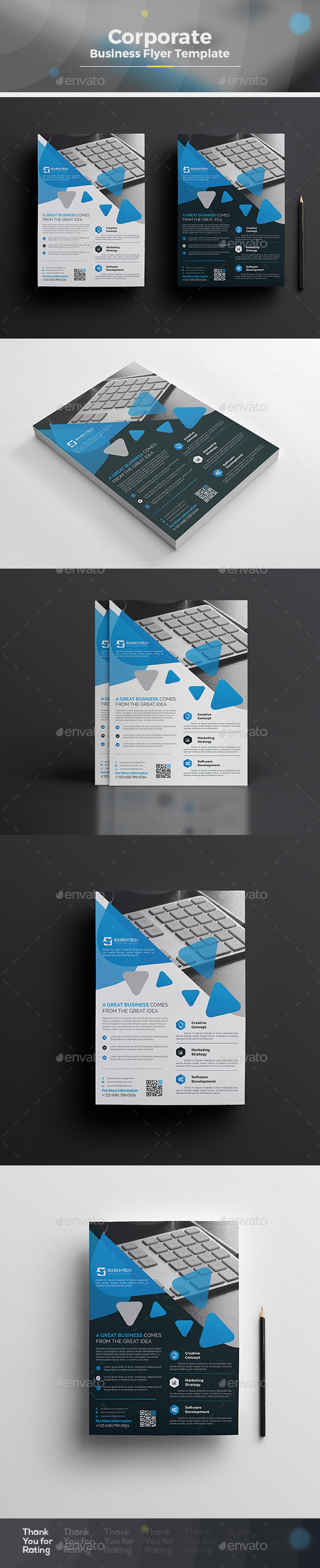 Clean Flyer - Corporate Flyers