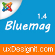 Bluemag - Magazine Blogging Joomla 3 Responsive Templates Nulled