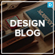 Design Blog - A Minimal and Creative Blog Theme for WordPress Nulled