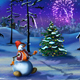 Snowman and Christmas Tree New Year Celebration - VideoHive Item for Sale