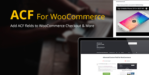 Advanced Custom Fields for WooCommerce - CodeCanyon Item for Sale