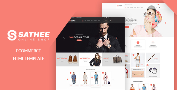 Sathee – eCommerce Fashion Template