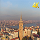 The Aerial Wide View of Galata Tower - VideoHive Item for Sale