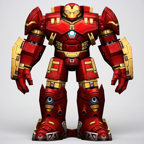 Iron Man Hulkbuster Armor - 3DOcean Item for Sale