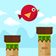 Bird Drop Bird - Buildbox complete game - CodeCanyon Item for Sale