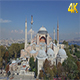 The Aerial View of Ayasofya Mosque. - VideoHive Item for Sale