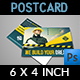 Construction Postcard Template Vol.2 - GraphicRiver Item for Sale
