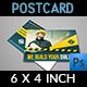 Construction Postcard Template Vol.2 - GraphicRiver Item for Sale
