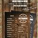Wood Food A4 Menu - GraphicRiver Item for Sale